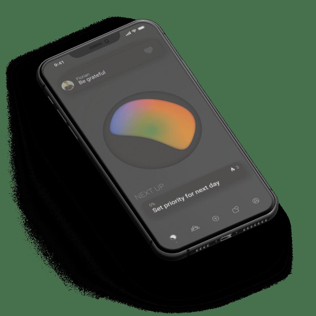 habit tracker app accountability group identi habit home screen