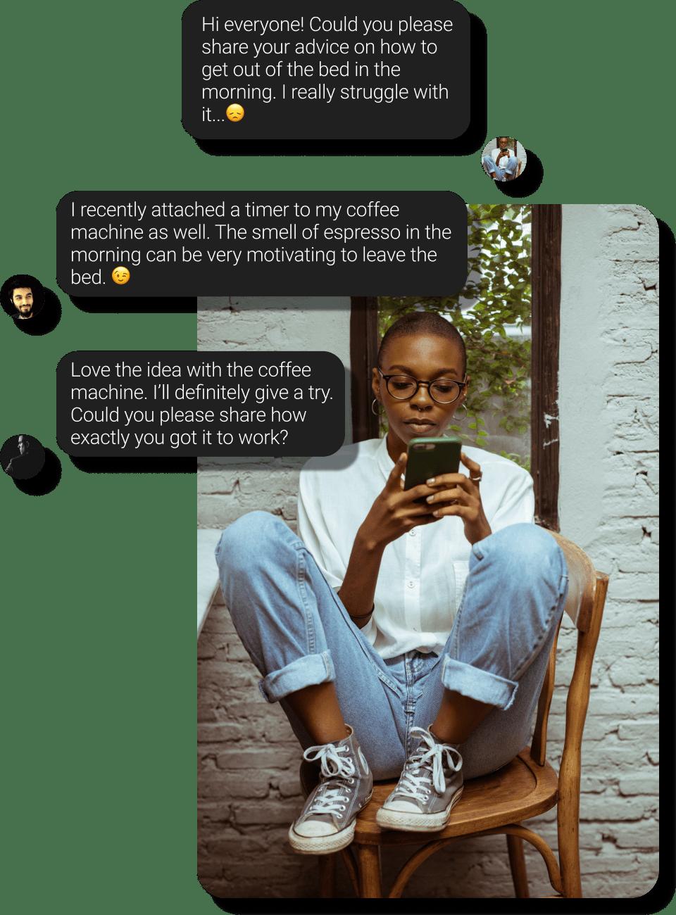 chat visualizations